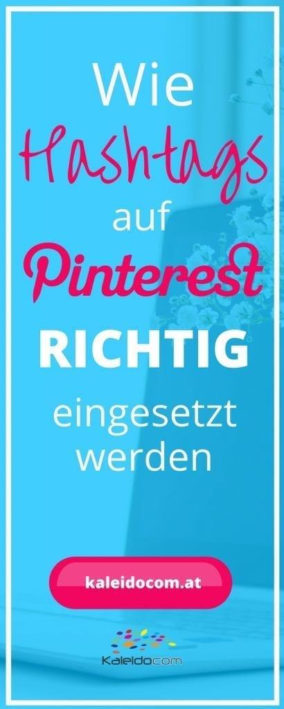 Sind Hashtags auf Pinterest sinnvoll oder Unsinn? So werden Hashtags auf Pinterest RICHTIG eingesetzt.
