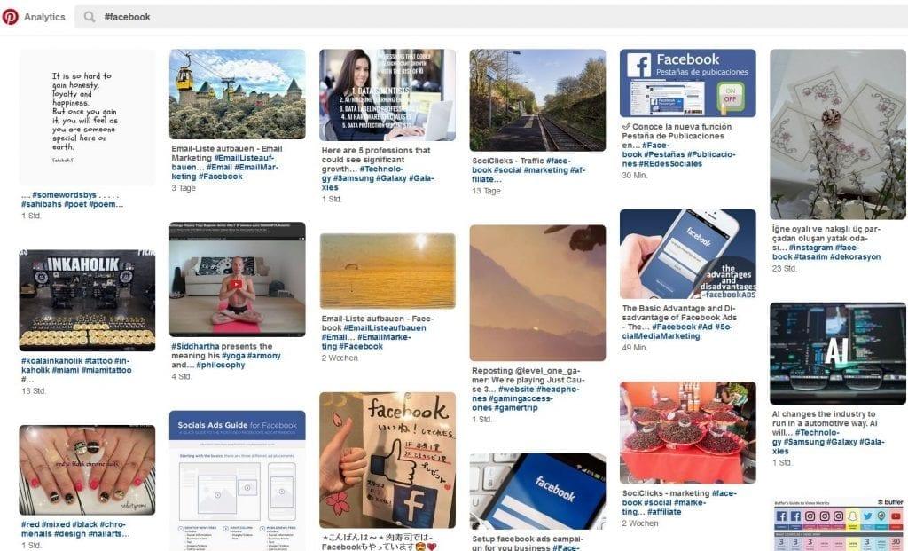Suchergebnis auf Pinterest mit #Facebook