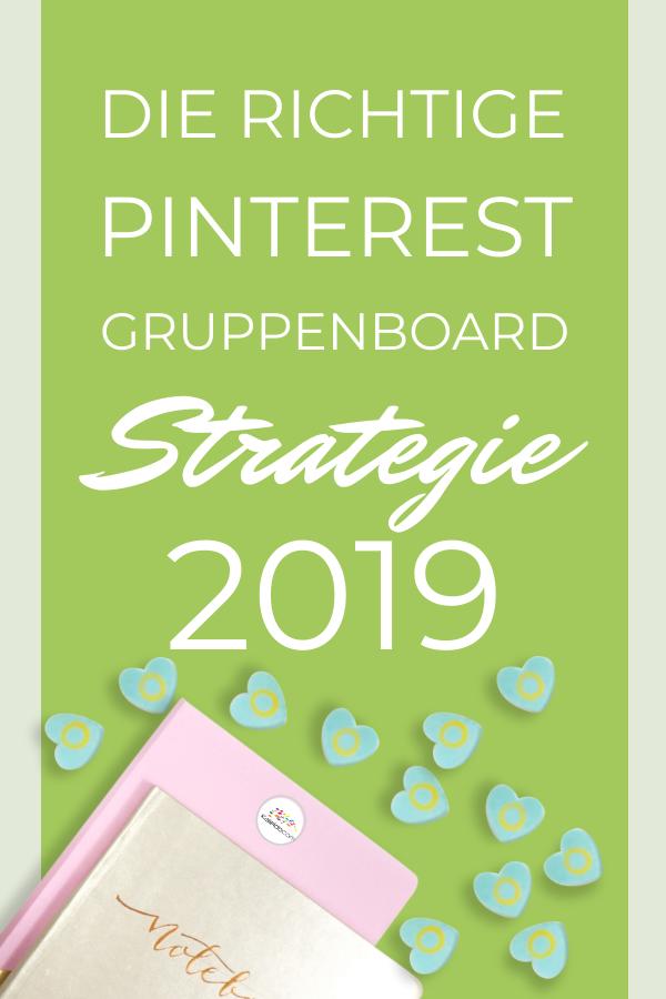 Gruppenboard Strategie 2019